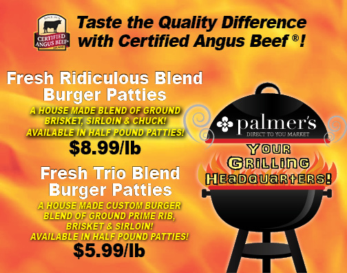 What Is Restaurant Quality from Palmer's Direct to You Market
