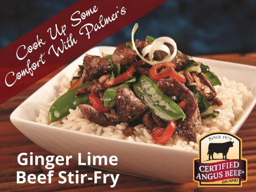 Ginger Lime Beef Stir-Fry