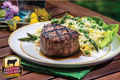 Filet Mignon with Couscous Salad Recipe